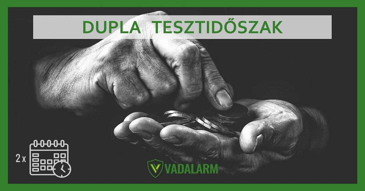 28 napos pénzvisszafizetési garancia Vadalarm VIP klub tagoknak