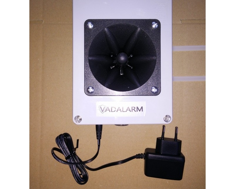 Vadalarm adapterrel