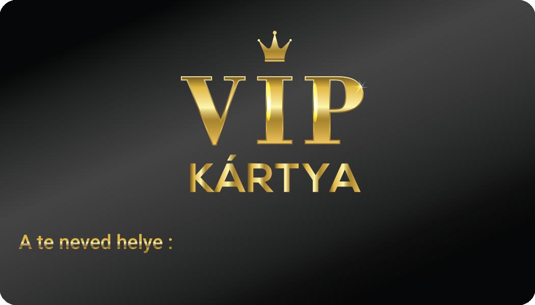 Vadalarm VIP kártya 2020
